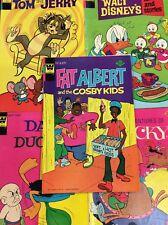 WHITMAN FAT ALBERT #3 DISNEY TOM JERRY CRACKY DAFFY DUCK CARTOON Comic Books LOT