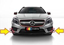 Nuevo Originales Mercedes MB Gla X156 AMG Parachoques Delantero Lado Lower
