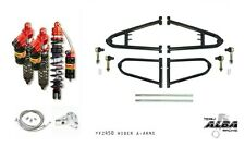 Alba +2 Extended A-Arms Elka Legacy Front Rear Shocks Suspension Kit YFZ 450