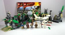 LEGO Indiana Jones Set Temple Escape 7623 Complete with 6 Minifigs