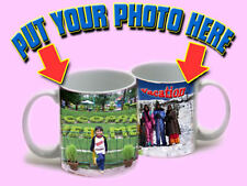A GRADE WHITE COFFEE MUG WITH PERSONALISED PHOTO -WE PRINT 4 U RAKHI DIWALI GIFT