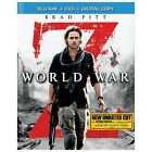 World War Z (Blu-ray/DVD, 2013, 2-Disc Set, Unrated Includes Digital Copy)