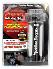 ROCKFORD FOSGATE RFC1D CAP 1 FARAD DIGITAL HYBRID POWER AMPLIFIER CAPACITOR NEW