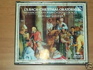 2 CD -J.S.BACH- GARDINER- CHRISTMAS ORATORIO - Archiv