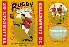 Art Poster Rugby Cigarettes Print