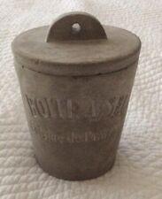 """New listing French """"Boite a Sel"""" Cuisine de Provence Cement Concrete Salt Jar.Sur La Table"""