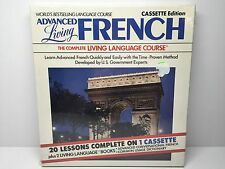 FRENCH Advanced The Complete Living Language Course Cassette Tape Edition