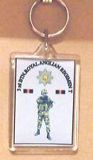 3rd Btn Royal Anglian Regiment key ring..