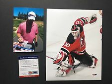 Martin Brodeur Hot! signed New Jersey Devils 8x10 photo PSA/DNA cert PROOF!!