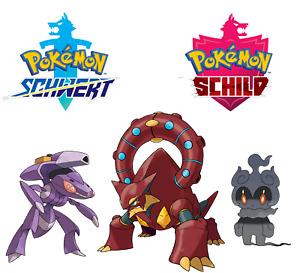 DLC für POKEMON SCHWERT und SCHILD für Nintendo Switch offiziell Promo Volcanion