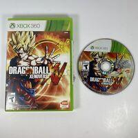 Dragon Ball XenoVerse (Microsoft Xbox 360, 2015) NO MANUAL