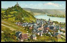 AK BRAUBACH ca. 1900 RHEIN MARKSBURG BURG CASTLE RARE!! ct97
