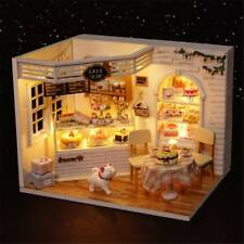 DIY Dollhouse Miniature Furniture Mystical Cat Diary Of Cake Bakery House Kit