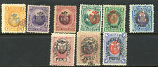 Peru Chile Occupation- 9 Different (includes N22)