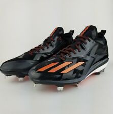 quality design 1f261 5f4f0 Adidas Energy Boost Icon 2 2.0 Metal Baseball Cleats 12 Q16524 Black Orange
