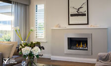 Napoleon BL36 Direct Vent Linear Gas Fireplace w/ Stainless Steel Surround
