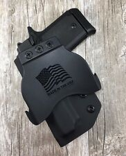 OWB PADDLE Holster Sig Sauer P938 Kydex Retention SDH
