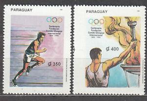 Paraguay - Mail 1994 Yvert 2655/6 MNH Olympics