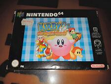 ## Kirby 64: The Crystal Shards in OVP für Nintendo 64 / N64 Spiel - TOP ##