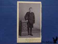 Weesp HOLLAND NETHERLANDS Portrait CDV Young Lad Knickers J.Th. Scheermeyer