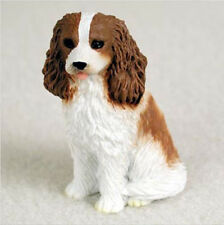 CAVALIER (brown white) TINY ONES DOG Figurine Statue Pet Lovers Gift Resin