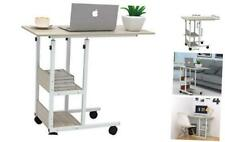 JACENTHOME Home Office Desk 31x16'' Moveable Height Adjustable Modern Computer