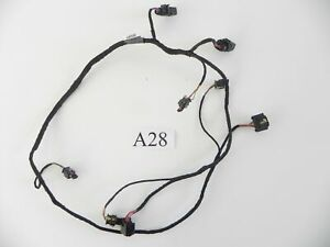 2019 AUDI S3 REAR BUMPER PARK ASSIST WIRE WIRING HARNESS CABLE OEM 502 #28 A