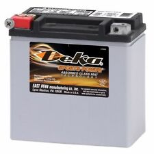 DEKA, ETX14, BATTERY, 12V, 220 CCA, 12AH