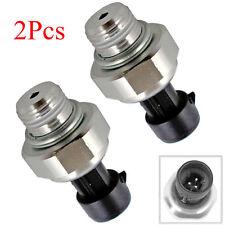 2 x Oil Pressure Sending Unit For Chevrolet Silverado 1500 2500 3500 HD 12559780