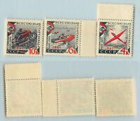 Russia USSR 1961 SC 2497-2499 MNH . rta9776