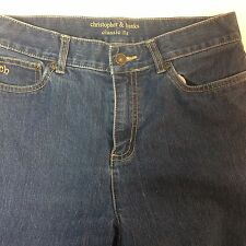 Christopher & Banks Jeans Classic Fit Size 6 Ships Free