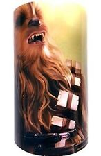 Star Wars Flameless Color Changing Candle ~ Chewbacca ~ Brand New, Factory Seale