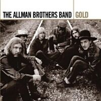 """THE ALLMAN BROTHERS BAND """"GOLD"""" 2 CD NEW!"""