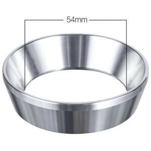 54mm Acier Inoxydable Café Dosing-Ring Espresso Dosage Entonnoir Portafiltre