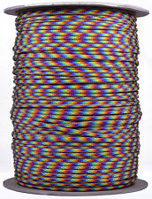 Hippie - 550 Paracord Rope 7 strand Parachute Cord - 1000 Foot Spool