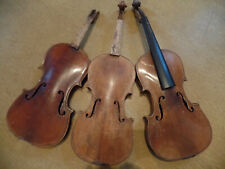 Geige, 3 alte Geigenkörper