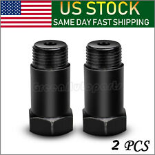 Straight 45mm 02 O2 Oxygen Sensor Extension Spacer extender M18 X 1.5 (QTY:2)