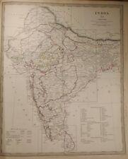 1835 Twelve Maps of India (India I-Xii) Baldwin & Gradoc