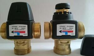 """Rücklaufanhebung ESBE VTC 312  - mit 45°C, 55°C, 60°C, 70°C, 80°C - 3/4"""" und 1"""""""