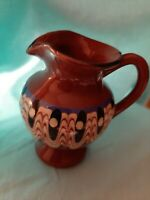 Clay Pottery Mini Southwest Style Pitcher Collectors