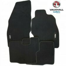 Genuine Vauxhall Corsa D/E Velour Tailored Carpet Car Mats UKCVA005 2006-2019