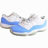 Nike Air Jordan XI Retro 11 Low Carolina Blue UNC White 528896-106 Size 5.5Y