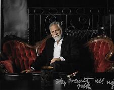 JONATHAN GOLDSMITH Signed Autographed 8x10 Photo Most Interesting Man Dos Equis
