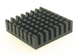 Heatsink (Type3)   Aluminum Heatsink  - 27mm x 27mm x 8mm (2 pcs)