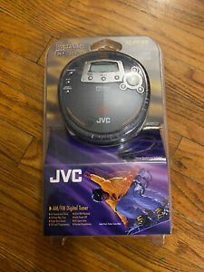New Rare JVC XL-PR1BK Portable CD Player Anti-Shock Protection AM/FM Radio