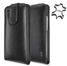 Artwizz SeeJacket Flip Leather Case Cover Case Cover Clip HTC One M8 black