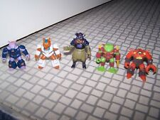 Collection of Hasbro Vintage 1986 Battle Beasts Action figures Takara  80s Toys