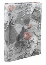 Romantic Roses Fotoalbum in Grau für 300 Fotos in 10x15 cm Einsteck Foto Album