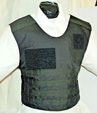 New Large Tactical Plate Carrier IIIA Body Armor BulletProof Vest with Inserts