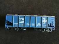 MANTUA Boxcar BM Rail Boston & Maine 10056  Blue Vintage Box Car HO Scale